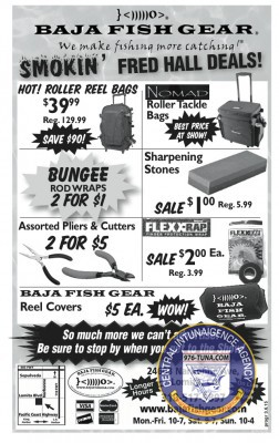 Baja Fish 4 Program - Tackle Bags Tools
